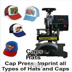 6 IN 1 COMBO HEAT PRESS T-SHIRT HAT MUG START UP KIT Plus PRINTER EPSON