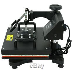 6in1 12 X 15 CLAMSHELL HEAT PRESS T-SHIRT Digital TRANSFER SUBLIMATION MACHINE