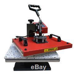 6in1 Heat Press Transfer Machine Vinyl Cutting Plotter Printer Paper T-shirts