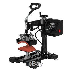 8IN1 Combo T-Shirt Heat Press Transfer 15x15 1100W Digital Multifunctional