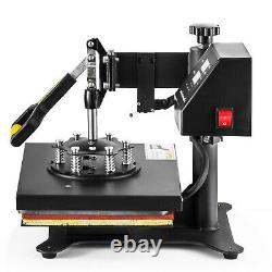 8 In 1 Digital T-Shirt Heat Press Machine Sublimation for Mug Plate Hat Printer