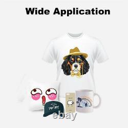 8 in1 Digital Heat Press Machine Combo Transfer Printing T-shirt Mug Hat 12X15