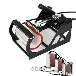 8 in 1 Digital T-Shirt Heat Press Machine Combo Sublimation Transfer Home DIY