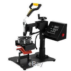 8 in 1 Digital T-Shirt Heat Press Sublimation Transfer Machine 12X10