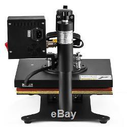 8in1 12x10 Swing Away Digital Heat Press Machine Transfer Sublimation T-shirt
