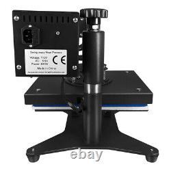9X12 Digital Heat Press Machine Combo Sublimation Transfer DIY TShirt Swing Away