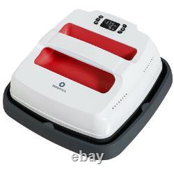 9X9 Heat Press Machine Sublimation T-Shirt Press Transfer Iron-on Machine Red