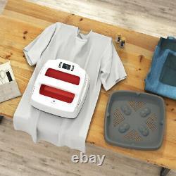 9X9 Utility T-Shirt Press Transfer House Iron-on Heat Press Machine Red