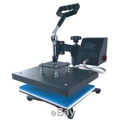 9x12 SWING AWAY Heat Press Machine Sublimation for T-shirt Printing Cloth US
