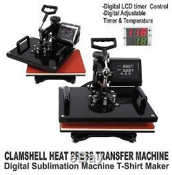 Brother Printer + Heat Press T-shirt Maker Machine Complete Starter Pack Kit