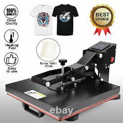 Clamshell Heat Press Machine 15 x 15 DIY T-shirt Sublimation Digital Transfer
