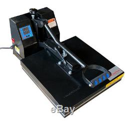 DG HEAT PRESS Digital Sublimation T-Shirt Heat Press15-by-15-Inch Black