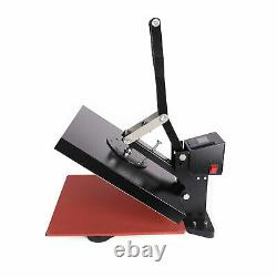 DIY Digital Clamshell T-shirt Heat Press Machine 15X15 Sublimation Transfer