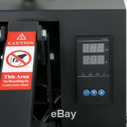 Digital Clamshell Heat Press Transfer T-Shirt Sublimation Machine 15 x 15