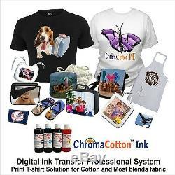 Digital Heat Press 15x15 Transfer Machine T-shirt Maker Starter + Printer Epson