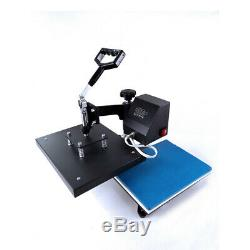 Digital Heat Press Machine Sublimation Transfer Swing Away 9X12 DIY T-Shirt