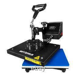 Digital Heat Press Machine Swing Away 9X12Printing Transfer DIY T-Shirts Mat