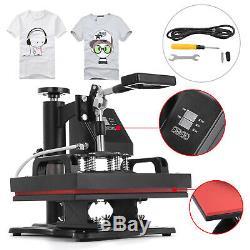 Digital Heat Press Machine T-Shirt Sublimation Printer Transfer 12X10 Pressing