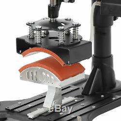 Digital Swing Away Sublimation 5 in 1 Heat Press Machine T-shirt Mug Hat 12x15