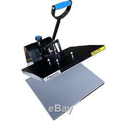 EPhotoInc 16 x 20 Digital Heat Press Machine T-Shirt Transfer Clamshell Press E