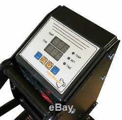 Fancierstudio Power Heat Press 15x15A BLK Digital Sublimation T-Shirt Heat Pr