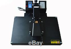 Flat Heat Press 16 x 24 Digital Transfer Sublimation T-Shirt DIY Clamshell New