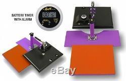 Geo Knight Heat Press JetPress12 9x12 T-Shirt Transfer Press Machine