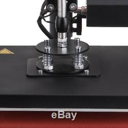 HOT 5in1 Heat Press Machine Digital Transfer Sublimation T-Shirt Mug Hat Printer