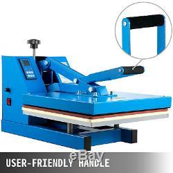 Heat Press 15X15 Digital Clamshell Sublimation Transfer Machine T-shirt DIY