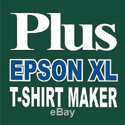 Heat Press 20x16 Transfer T-shirt Sublimation Starter Pack Plus Printer XL