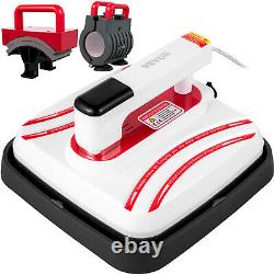 Heat Press Easy Press 10 x 10 Red Portable 3 In 1 Mini Press for DIY T-shirt Mug