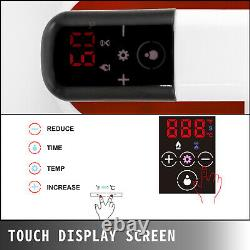 Heat Press, Easy Press 12x10 Inch, Red, Portable Heat Press Machine for T Shirts