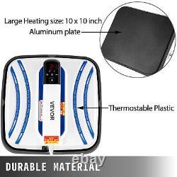 Heat Press Easy Press Machine 10x10 3 In 1 Blue Portable for DIY T-shirt Mug Cap