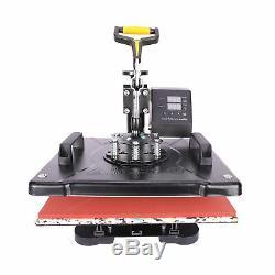 Heat Press Machine 12x15 14 Vinyl Cutter Plotter T-Shirt Sticker Print Usb