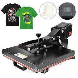 Heat Press Machine 15x15 DIY Digital Clamshell Sublimation Transfer for T Shirt