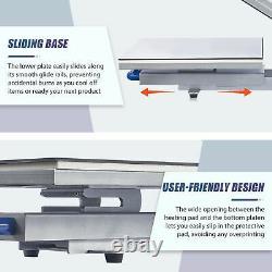 Heat Press Machine 16x20 Slide Out Base Auto Open Clamshell T Shirt Heat Press