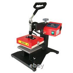 Heat Press Machine Digital Transfer Sublimation T-Shirt Mouse Pad 15X15CM