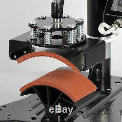Heat Press Machine Swing Away Clamshell Printing for T-Shirt Hat Cap Mug 6 in 1