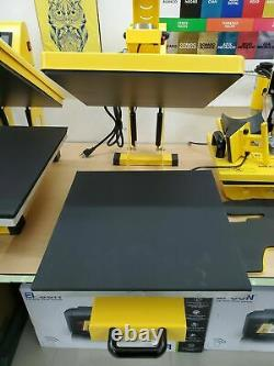 Heat Press Machine T-Shirt Heat Press 15x15 Auto Open Bottom Drawer