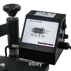 Heat Press New 12x10 T-shirt Transfer Printing Machine Digital Print Set