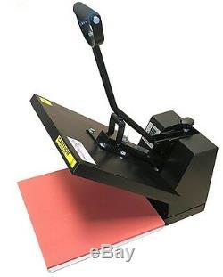 Heat Press Transfer T Shirt Sublimation Machine Digital Clamshell 15 x 15 NEW
