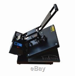Intbuying Heat Press Machine Printer Inkjet Paper Ink CISS T-shirts Vinyl CD NEW