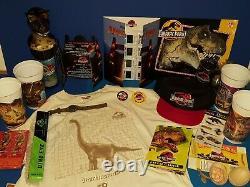 Jurassic Park Promo / Swag Lot, Watch, Press Kit W Slides, T Shirt, Cast Invite++