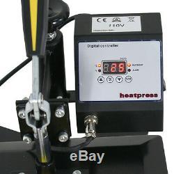 New 12x10 T-shirt Heat Press Transfer Printing Machine Digital Print Set