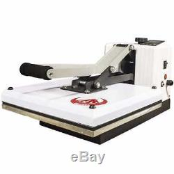 New 15 x 15 Digital Heat Press Machine Transfer Vinyl onto TShirt, Sublimation