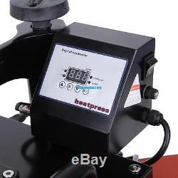 New Heat Press Transfer Digital 15 x 12 T-Shirt Sublimation Machine