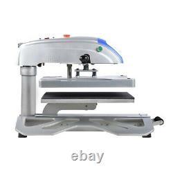 New design 16x20 swing away slideout t-shirt sublimation heat press machine