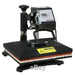 Pro 12 X 10 Digital Swing Away Heat Press Transfer T-shirt Sublimation Machine