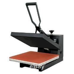 Pro Digital Heat Press Transfer T-Shirt Sublimation Clamshell Machine 15x15