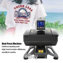 Profession Heat Press 3D Sublimation Transfer Printing Machine T-Shirt Hat Craft